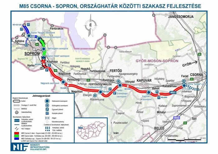 útépítés közút Sopron Strabag autóút Swietelsky EuroAszfalt Betonútépítő Dömper Subterra