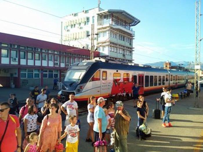 vasút Szerbia Montenegro MÁV-Start