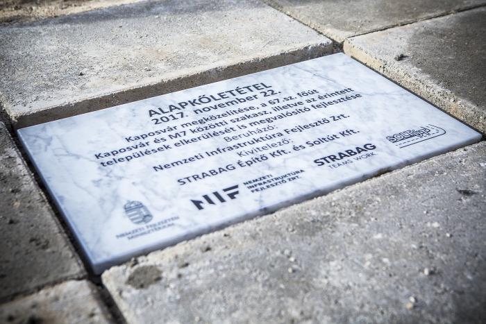 Strabag Somogy közút gyorsút EU beszerzés útépítés NIF NFM