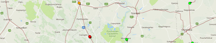 vasút baleset Szeged pótlás