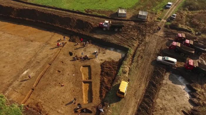 régészet útépítés közút magazin R67-es gyorsút Kaposvár Nemzeti Infrastruktúrafejlesztő