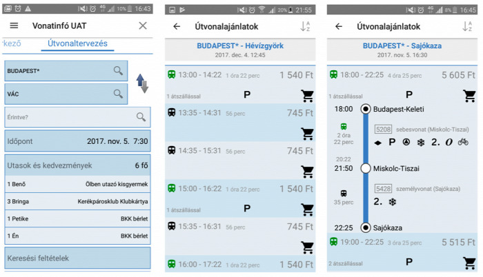 vasút NFM MÁV MÁV-Start GYSEV internet tarifa jegy
