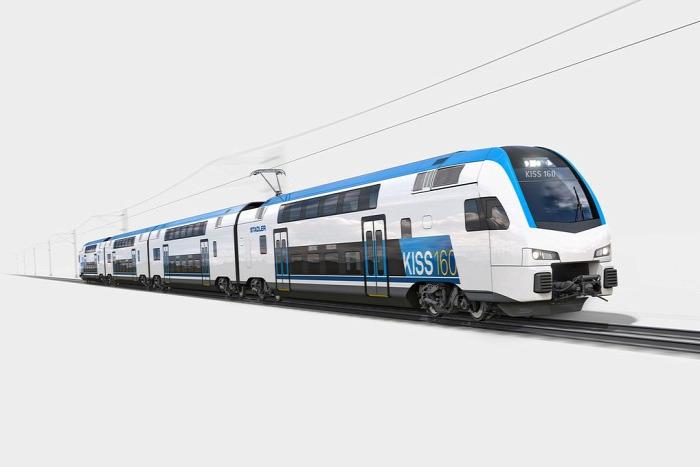 MÁV vasút MÁV-Start emeletes beszerzés Stadler Alstom