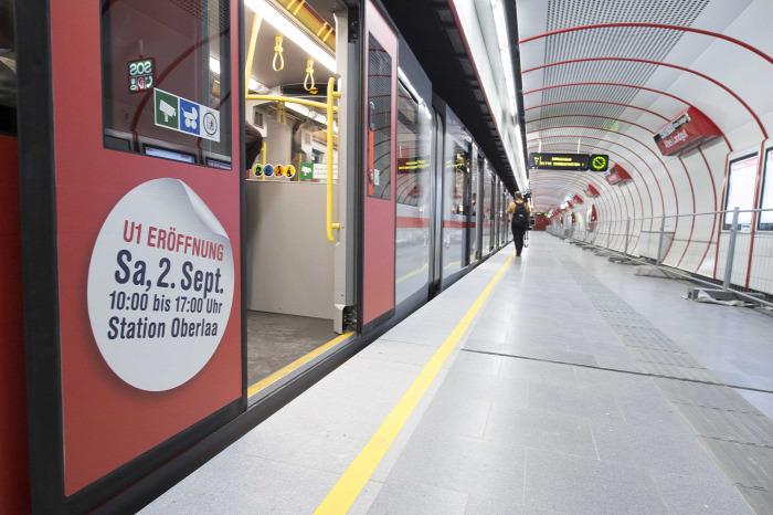 metró gyorvasút Bécs Ausztria építés