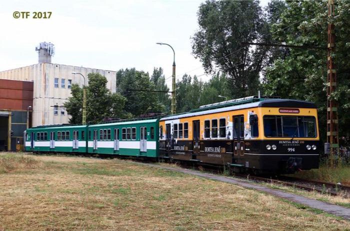 HÉV Budapest dizájn Gyorsvasút MÁV MÁV-HÉV NFM