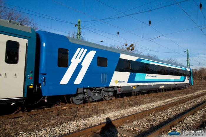 MÁV MÁV-Start vasút IC dizájn beszerzés