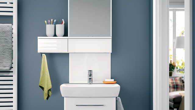 KOLO kerámiák a mosdófelújításban - kitűnő fürdőszobai termékek öregbítik a svájci gyártó hírnevét