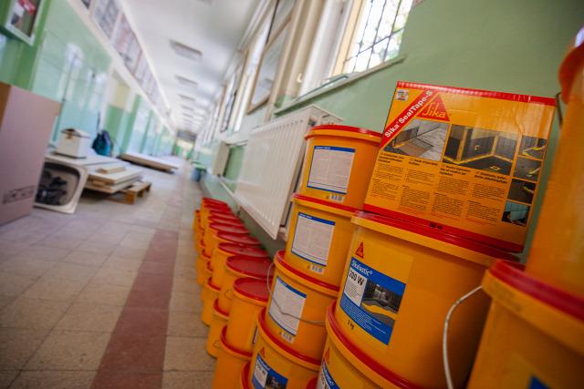 sika hungaria kft iskolamosdó felújítási program 2019
