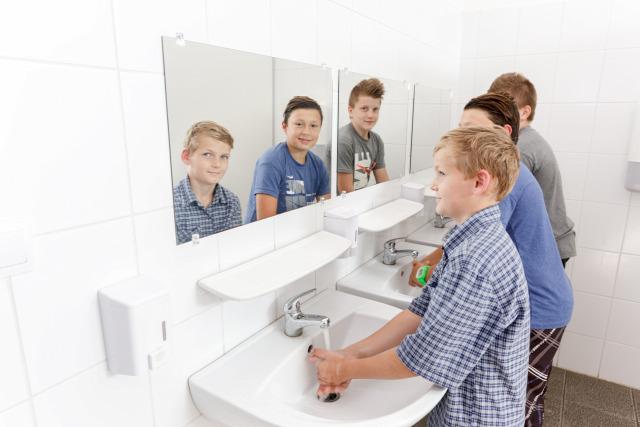 iskolai higiéniai nevelés domestos iskolamosdofelújítási program játékos tisztálkodás