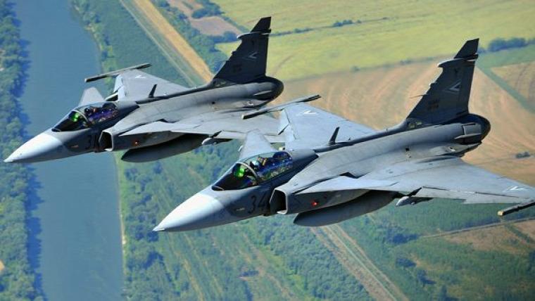 őz vadvilág belterületi vadkilövés Gripen Kecskemét légierő