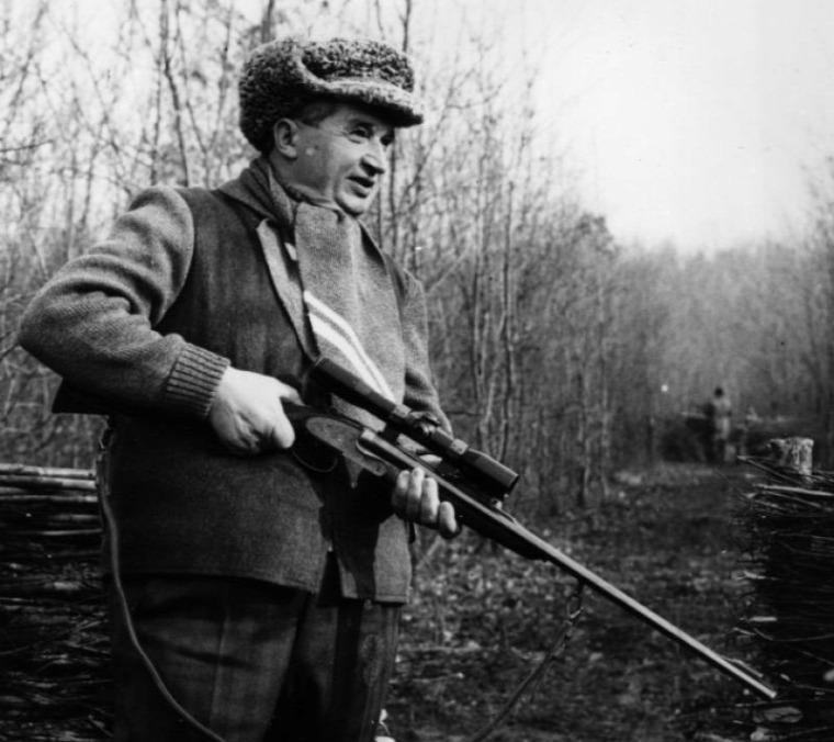 hírek Ceausescu árverés zubehör fegyver