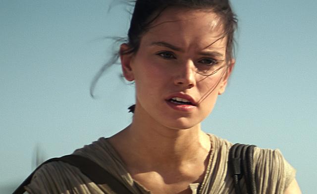 Daisy Ridley Star Wars: Az ébredő Erő A néma szemtanú