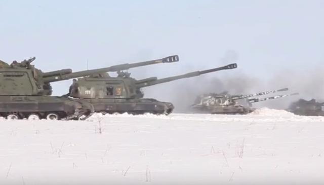 hírek gyakorlat orosz hadsereg tüzérség
