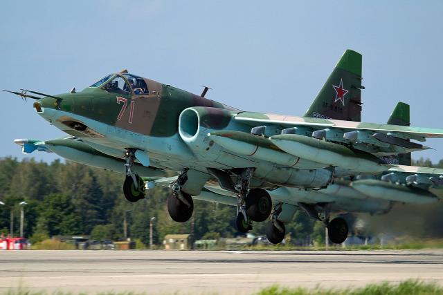 oroszország légierő szíria szu-25 légicsapás polgárháború felkelők iszlamisták