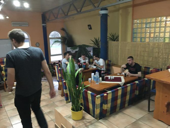 vacsora beszálló meghívás Rákóczi Rákóczi FC Kaposvár Kaposvári Rákóczi FC sport labdarúgás soccer