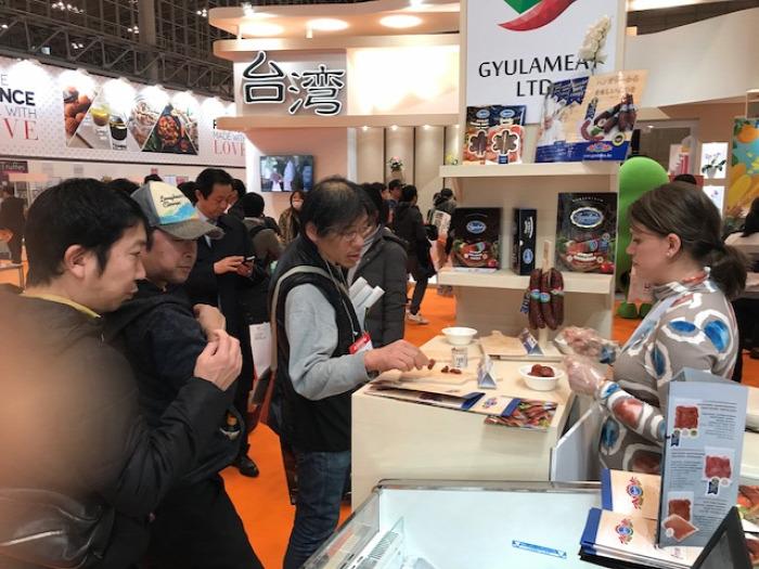 #Foodex #japán élelmiszerkiállítás #Fulmer Apiary #Gyulahús #Hungaroharvest #magyar méz #Aranynektár