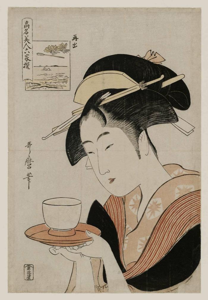 tvsprint ukiyo-e japán divat történelem
