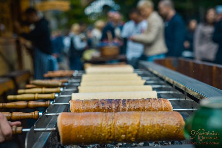 kürtőskalács fesztivál Budapest édesség