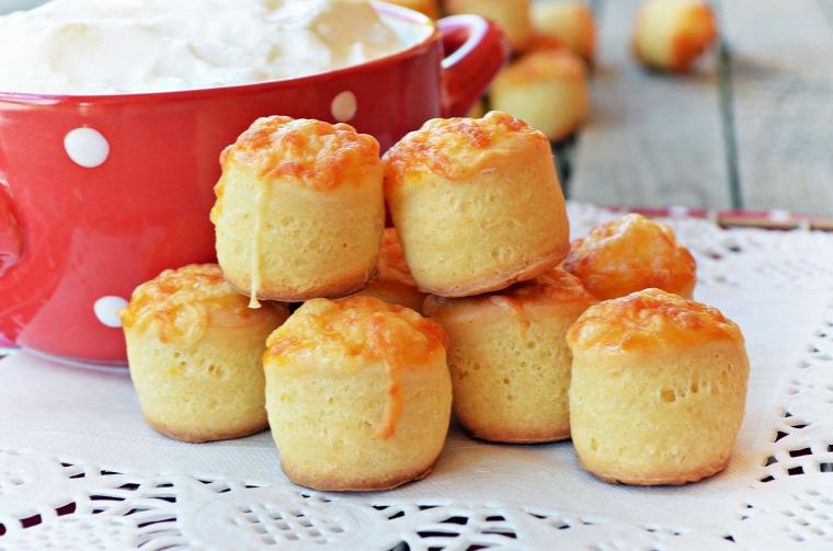 pogácsa túró sajt sós sütemény