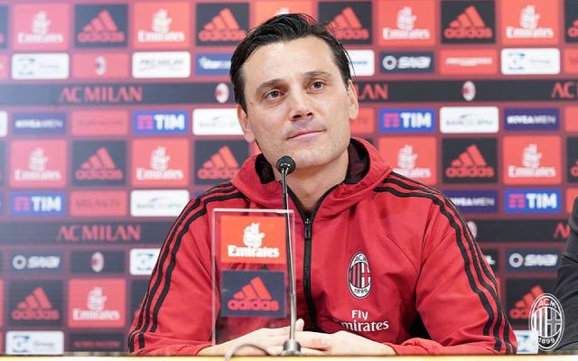 AC Milan Serie A Milan Montella Borini Calhanoglu Bonucci Olasz foci