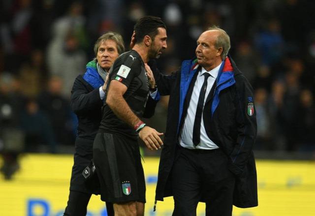 Olaszország Squadra Azzurra Buffon Ventura vb olasz válogatott