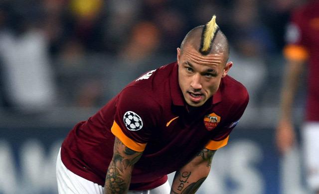 Olasz foci Olaszország Nainggolan AS Roma szilveszter büntetés