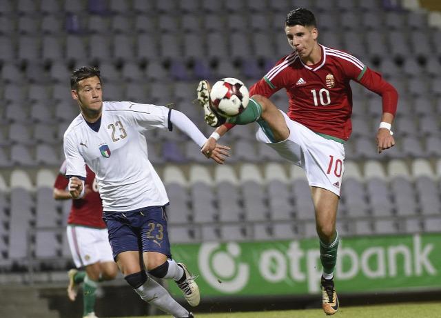 Olaszország Serie A U21 Magyarország NB I Chiesa fiatalok utánpótlás Olaszország Serie A U21 Magyarország NB I Chiesa fiatalok utánpótlás