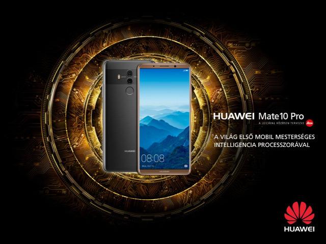 Huawei Mate Mate 10 Pro mesterséges intelligencia Nánási Pál Leica