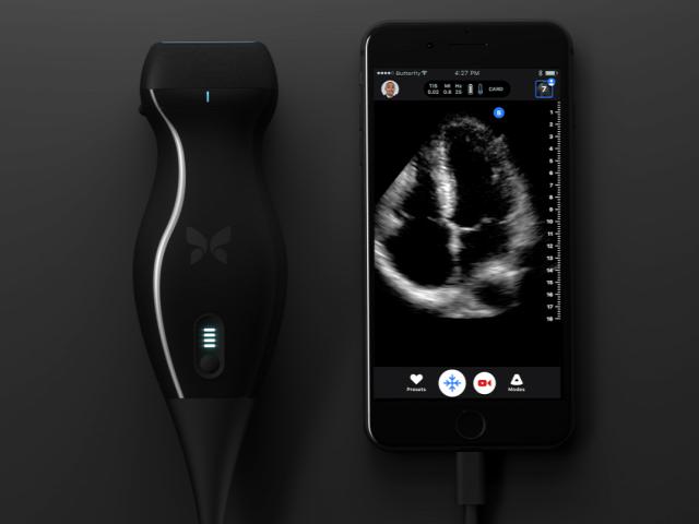 iPhone ultrahang ButterflyIQ 2018 orvos rák