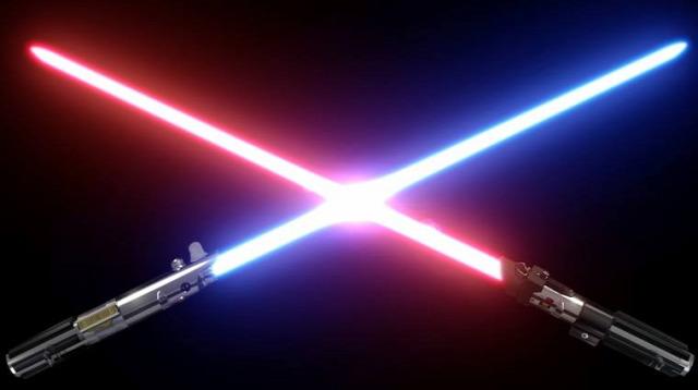 Star Wars Csillagok Háborúja SciOrFi fénykard vonó sugár fénysebesség űr szuperlézer