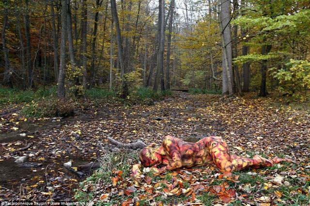 testfestés body art festés fotó fotóművészet érdekes