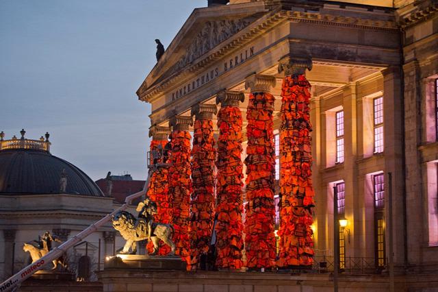 installáció művészet Ai Weiwei Műalkotás