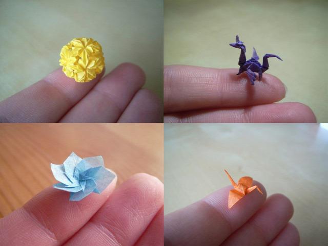 origami miniatűr