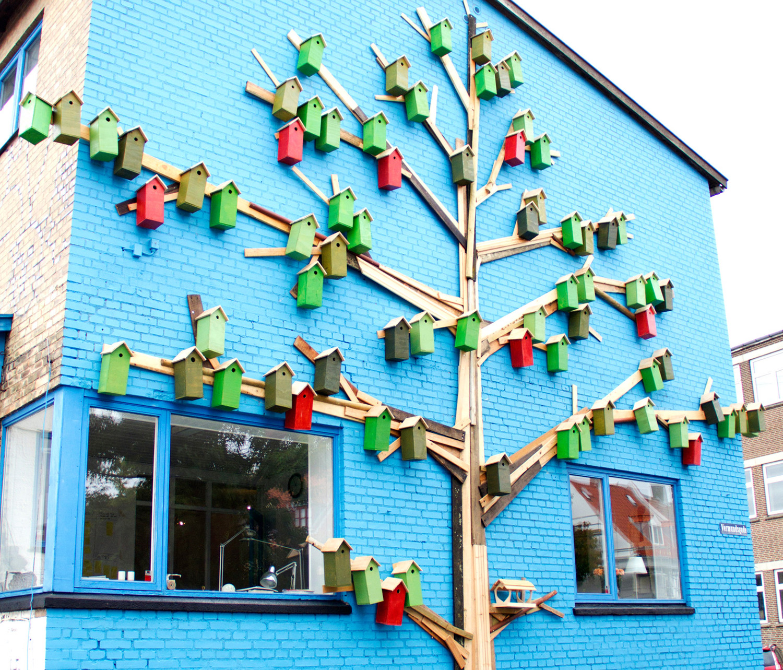 street art utcai művészet érdekes újrahasznosított