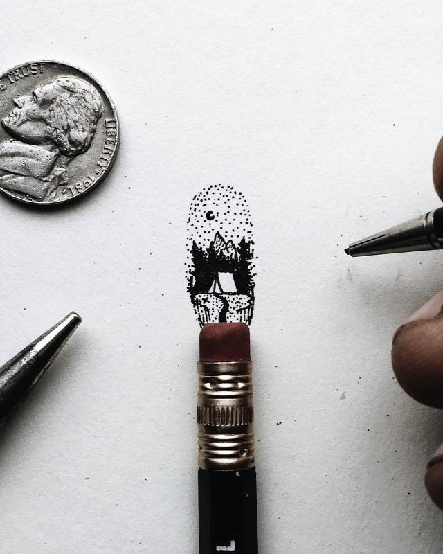 ceruzarajz rajz miniatűr grafit