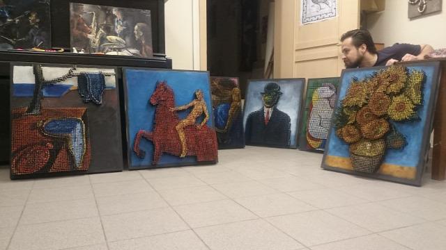 fesmény festészet különleges