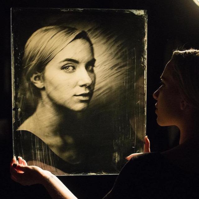ferrotípia fotó fotóművészet Giles Clement