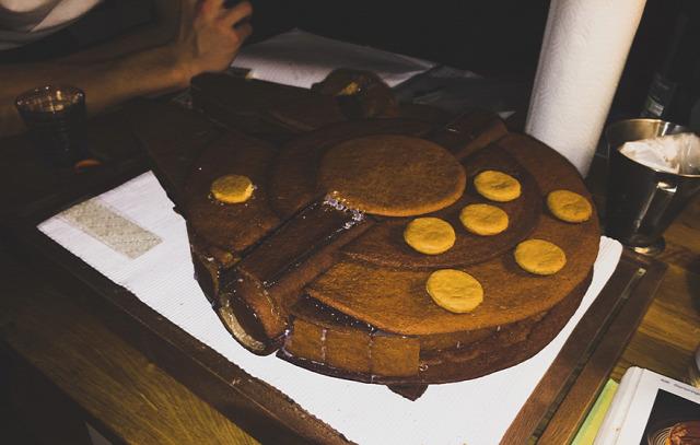 hihetetlen mézeskalács food art ételművészet star wars