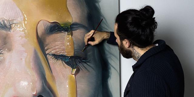 hiperrealista festmény rajz festészet