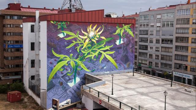 utcai művészet street art falfestés hihetetlen festmény