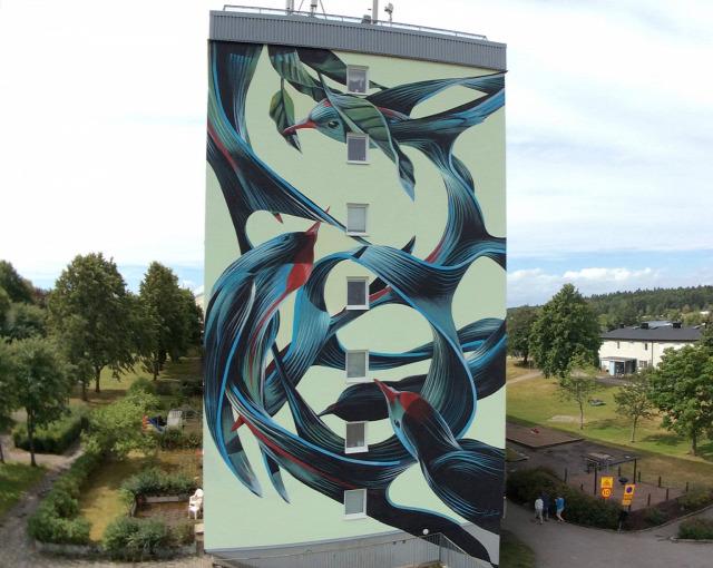 utcai művészet falfestés hihetetlen