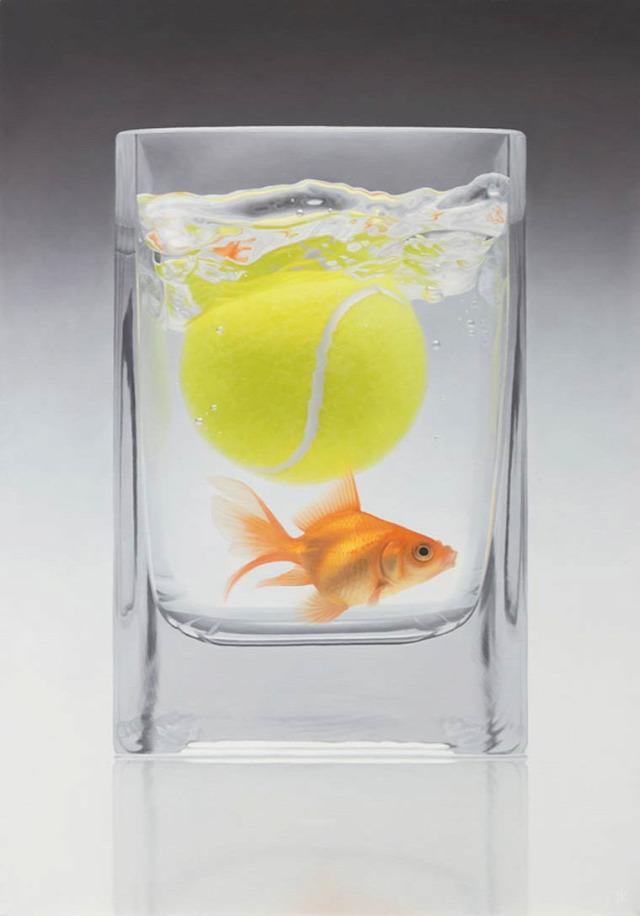 művészet hiperrealista festmény olajfestmény hiperrealista festmény napi művészet patrick kramer
