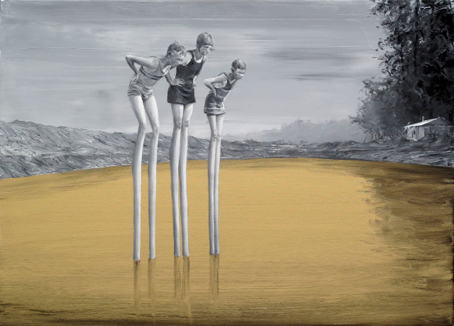 olajfestmény festmény szüreális szürealista