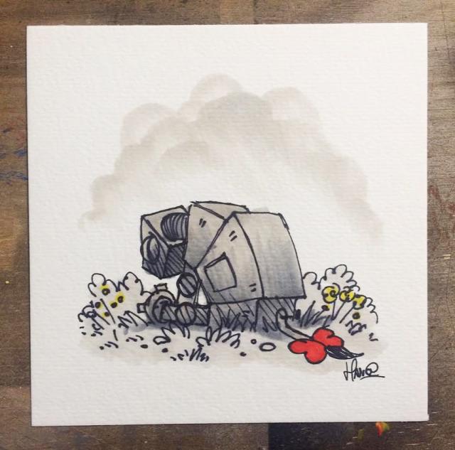 ilusztráció rajz star wars