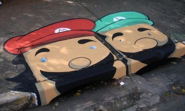 street art művészet utcai művészet
