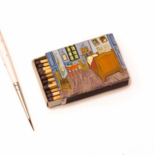 festmény érdekes miniatűr