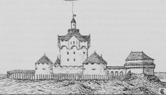 tokaji vár vártúra várrom Szapolyai vár Rákóczi vár