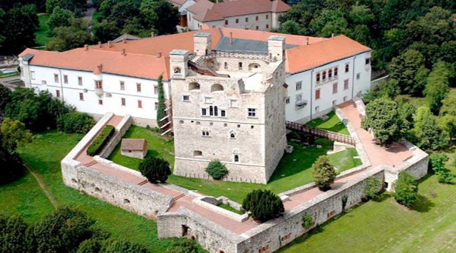 Sárospatak Rákóczi vár vártúra zempléni várak