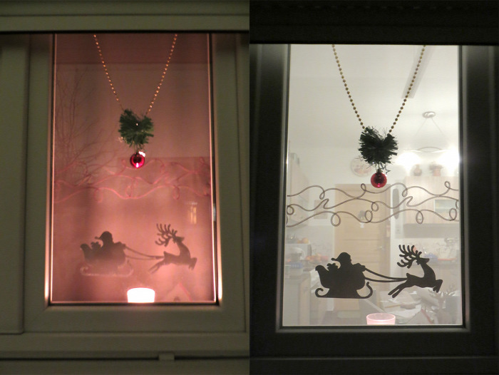 ünnepek közepes gyerekekkel karácsony ablakmatrica kreatív DIY fólia matrica