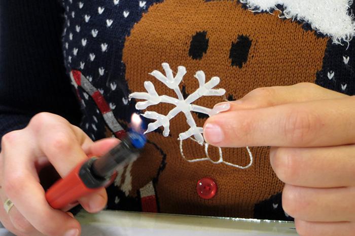 ünnepek közepes tél hópehely ragasztópisztoly DIY kreatív dekoráció ablakmatrica díszek matrica gyors